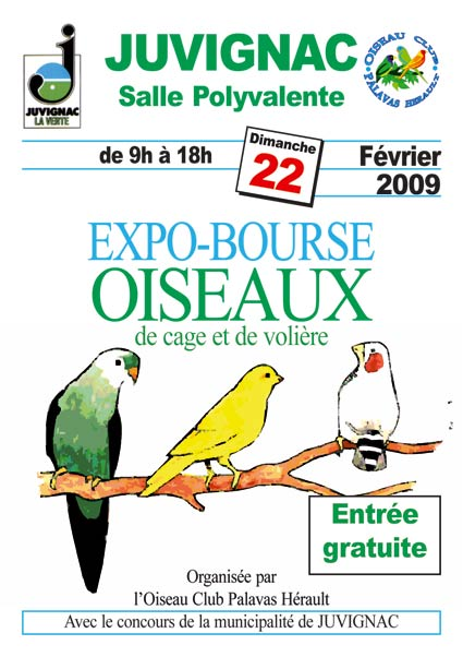 """Expo-Bourse à JUVIGNAC """"Hérault"""" Affich11"""