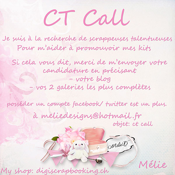 Ct call Méliedesigns  *** CLOS*** Ct_cal16