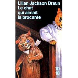 [Jackson Braun, Lilian] Tome 3: Le chat qui aimait la brocante 518sad11