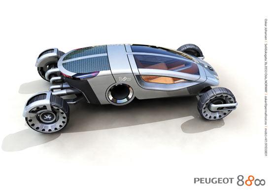 peut etre la voiture du futur Peugeo10