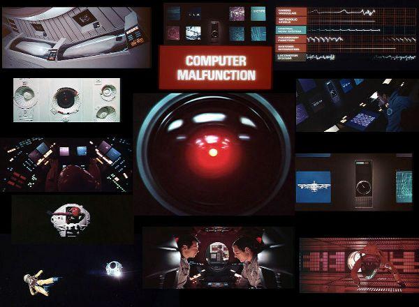 1968 - 2001 l'Odyssée de l'espace - Kubrick Hal90010
