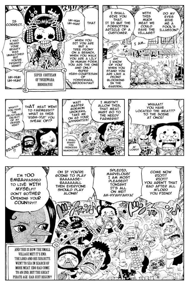 Omake One Piece Omake_21