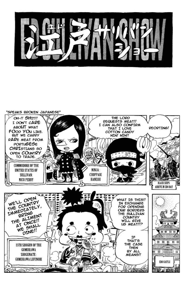 Omake One Piece Omake_22