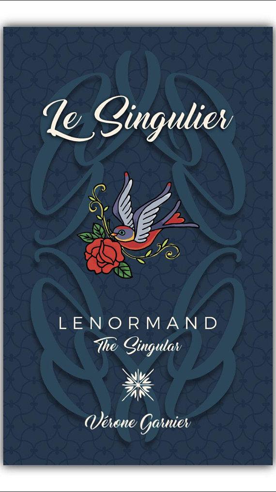 Lenormand Vérone LE SINGULIER la carte du CHIEN Lenorm12