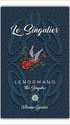 Lenormand Verone LE SINGULIER la carte NUAGES Lenorm13