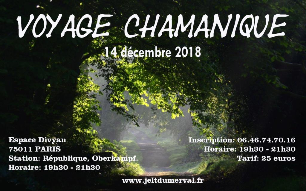 Voyage Chamanique de l'Aigle a Paris 14 décembre Voyage10