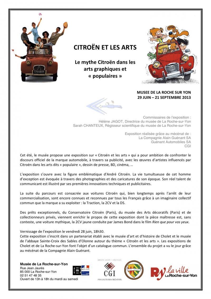 Citroen et les arts au musée de la Roche sur Yon 2cv-3d10