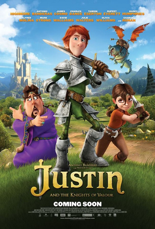 JUSTIN AND THE KNIGHTS OF VALOUR - Kandor - ES: 20 Sept 2013 Justin10