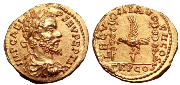 Septime vs Pescennius, Emèse vs Antioche. Emission inédite Aureus10