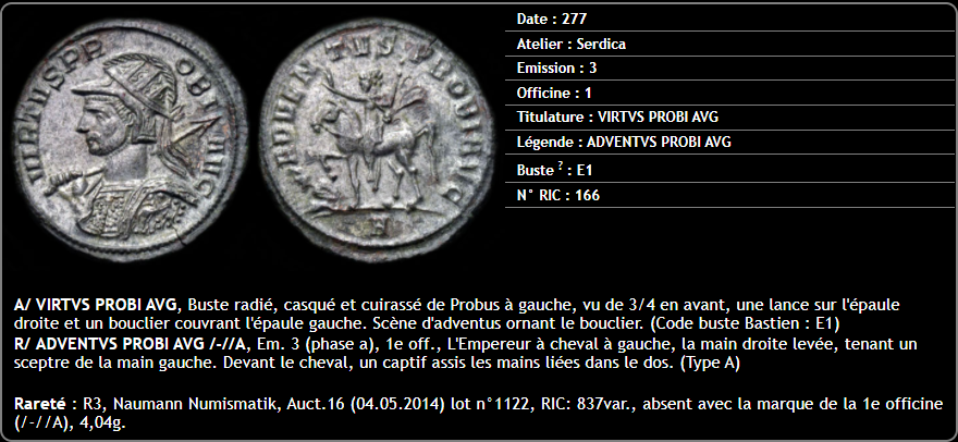 www.probuscoins.fr , base de données des aureliani de Probus - Page 11 Captu240
