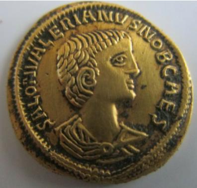 La fabrication des monnaies fourrées au 3e siècle Captur14