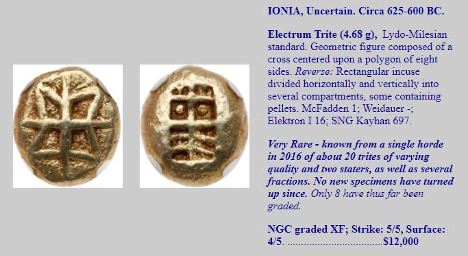 Étude de deux séries archaïques d'Éphèse Captur16
