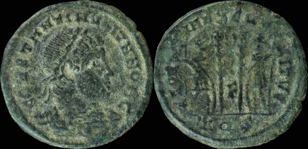 Constantin II RIC 132 (R4) – Paolucci & Zub 349 (R) Point en exergue ? Const118