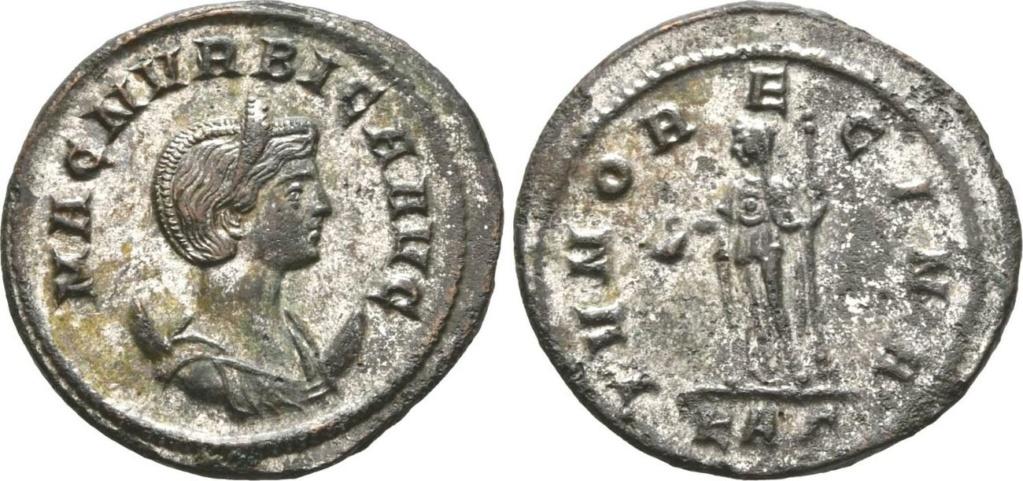 Carus - Carinus - Numerien et Sol sur une même monnaie Denier11