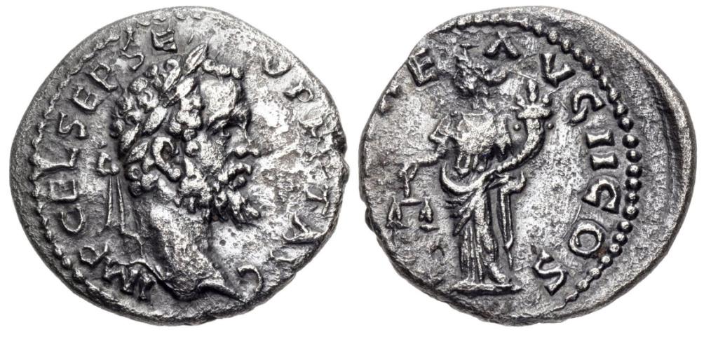 Septime vs Pescennius, Emèse vs Antioche. Emission inédite Ex_610