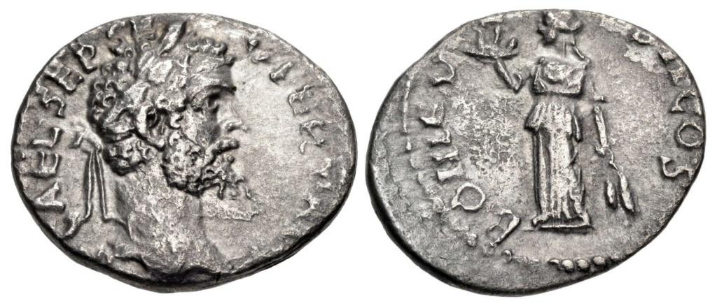 Septime vs Pescennius, Emèse vs Antioche. Emission inédite Ex_810