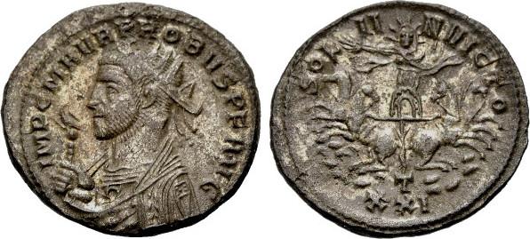 Hypothèse au sujet d'une monnaie inédite de Probus Probus53