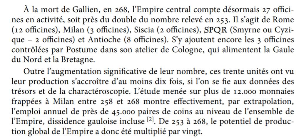 Production monétaire sous Gallien: à faire tourner la tête! Produc10