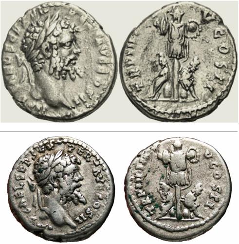 Septime vs Pescennius, Emèse vs Antioche. Emission inédite Visage10