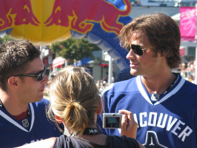 Jensen et Jared au  Red Bull soapbox Vancouver - event day 000r5e10