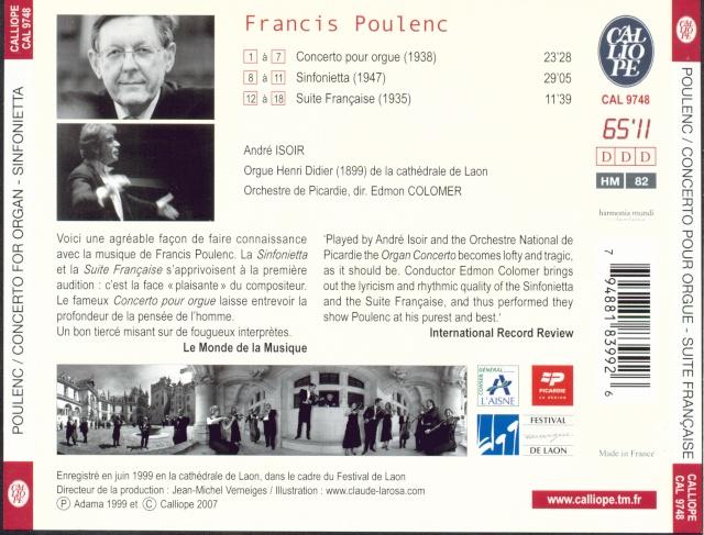 Francis Poulenc (1899-1963) - Page 5 Back10