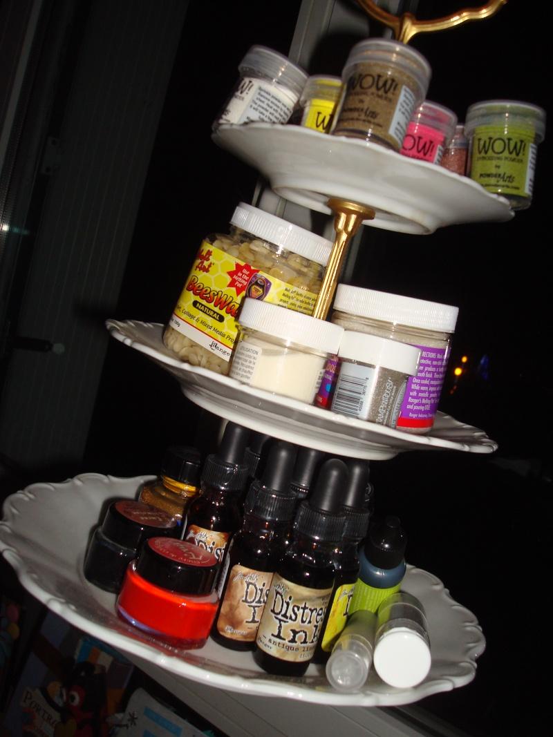 Sur un présentoir à gâteaux ! Dsc03616