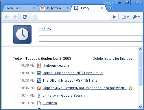 Google Chrome Slika610