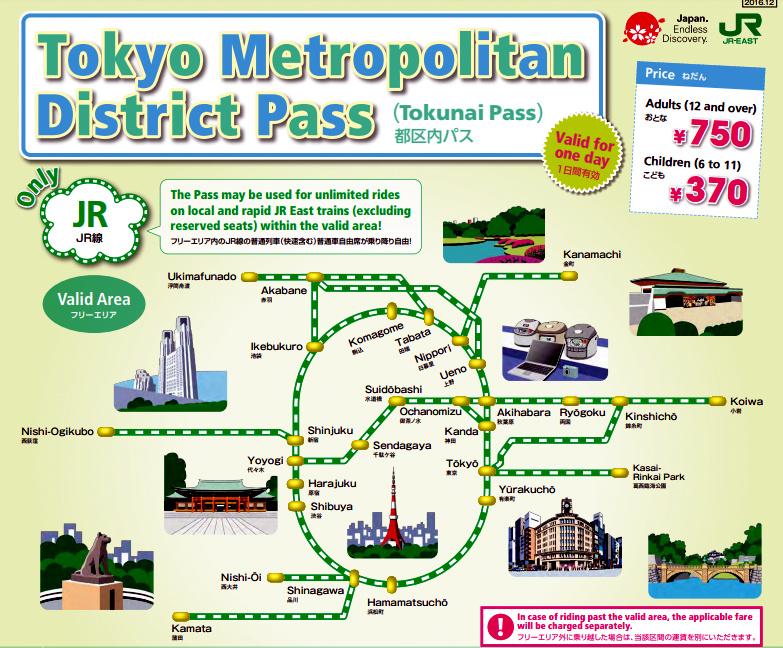 TOKYO : TRAIN - METRO - CARTES Captur33
