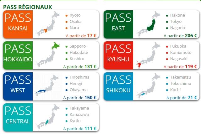 PASS REGIONAUX - Spécificités du JR PASS Jr_pas10