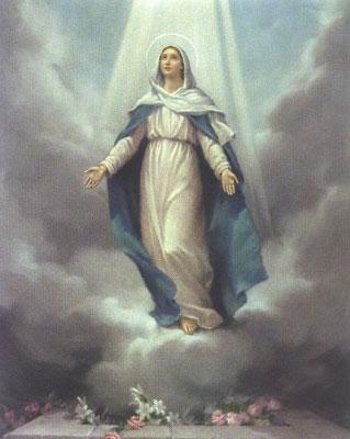 15 Août L'assomption de la très sainte vierge marie « Heureuse celle qui a cru ! » (Lc 1, 39-56) Assomp10