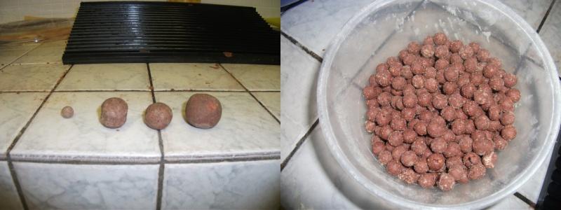 voici quelques une de mes confection bouilette  maison 'reportage photo) Result10
