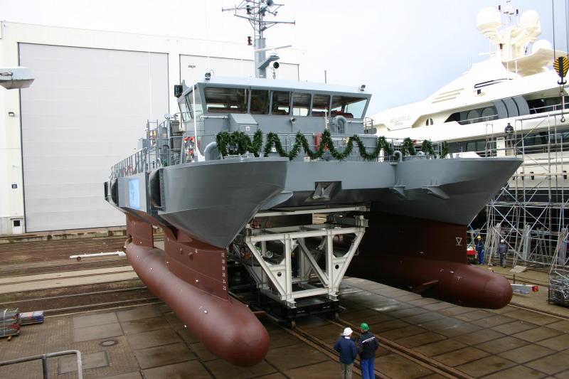 Latvian navy - Marine de Lettonie 1de18010