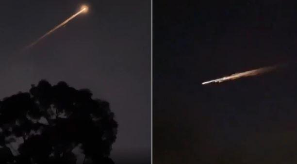 Un objet mystérieux a illuminé le ciel à travers le sud de l'Australie Captur10