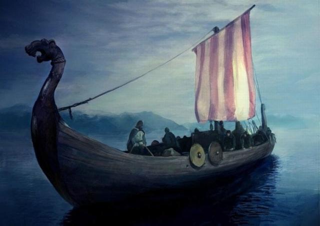 Un bateau viking enfoui depuis plus de 1000 ans sera déterré en Norvège Efe70a10