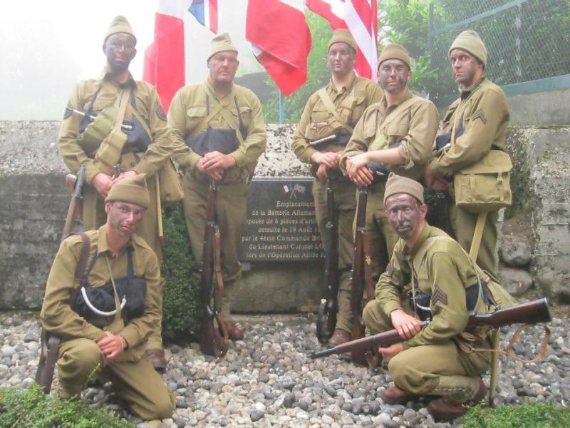 70ème anniversaire de l'opération jubilee- Dieppe 19 aout 2012 1010