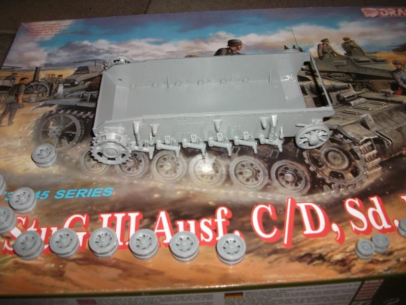 STUG - stug III ausf.C/D, sd.kfz.142 dragon 1/35  00413
