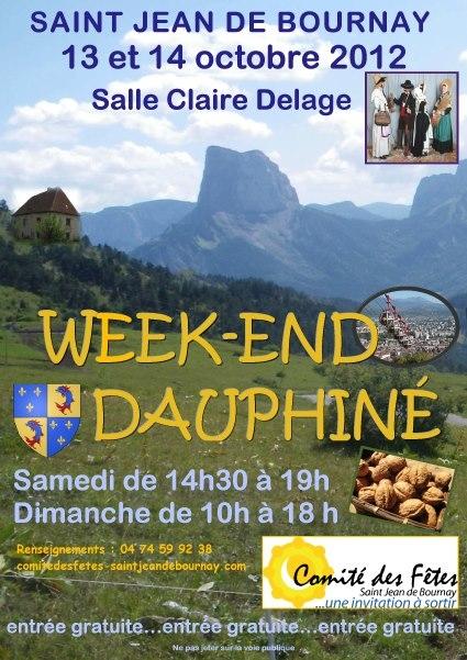 WE DAUPHINE A Saint Jean de Bournay Affich10