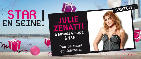 Star en Seine - Tour de chant et dédicaces au centre commercial Dock76 à Rouen le 4 septembre 2010 CONFIRME - Page 2 T_209110