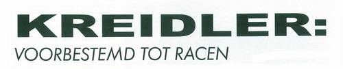 Voorbestemd tot racen (deel 3) Racing10