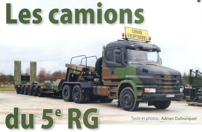 Les camions du 5e RG. 011110
