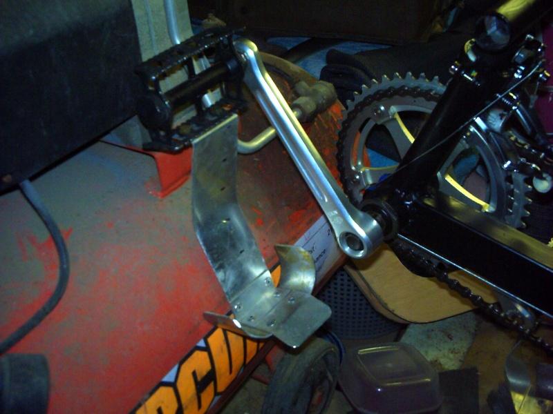 Des cales pieds sécurisants pour le trike 2011_010
