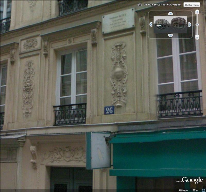 """Maisons natales des """"grandes figures"""" repérées dans Google Earth - Page 4 Bizet10"""