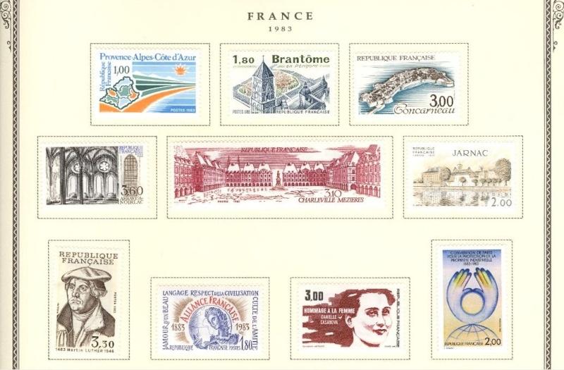Philatélie : Les timbres du Monde Entier Captu166