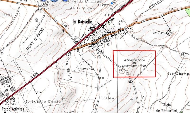 """Vestiges de la """"guerre des mines"""" (Première Guerre Mondiale) visibles dans Google Earth - Page 2 Captu196"""