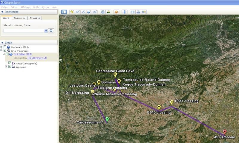 De ITN Converter vers Google Earth Captu228