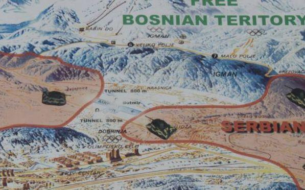 Le tunnel de Sarajevo - Bosnie Captu286