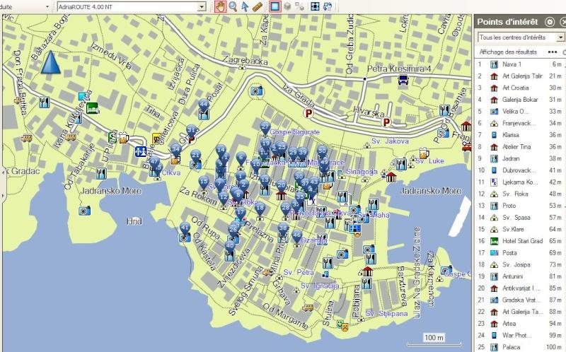 Cartes City Navigator - Navicom - Garmin  Captu303