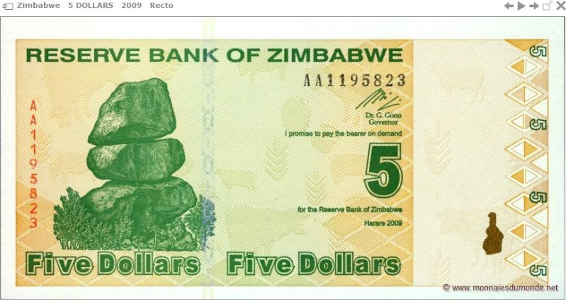 Billetophilie : Les monnaies du Monde Captur44
