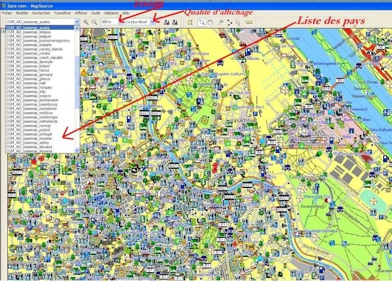 MAPSOURCE et Google Earth Captur60