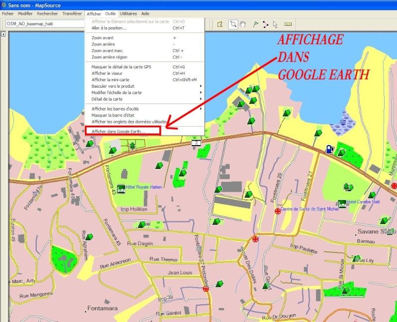MAPSOURCE et Google Earth Captur63